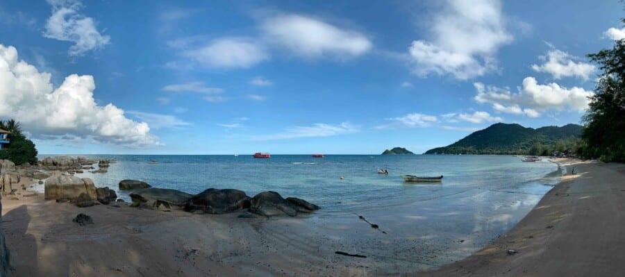 Panorama am Sairee Beach
