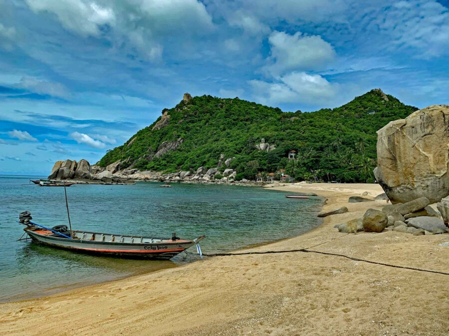 Tanote Bay an der Ostküste von Koh Tao