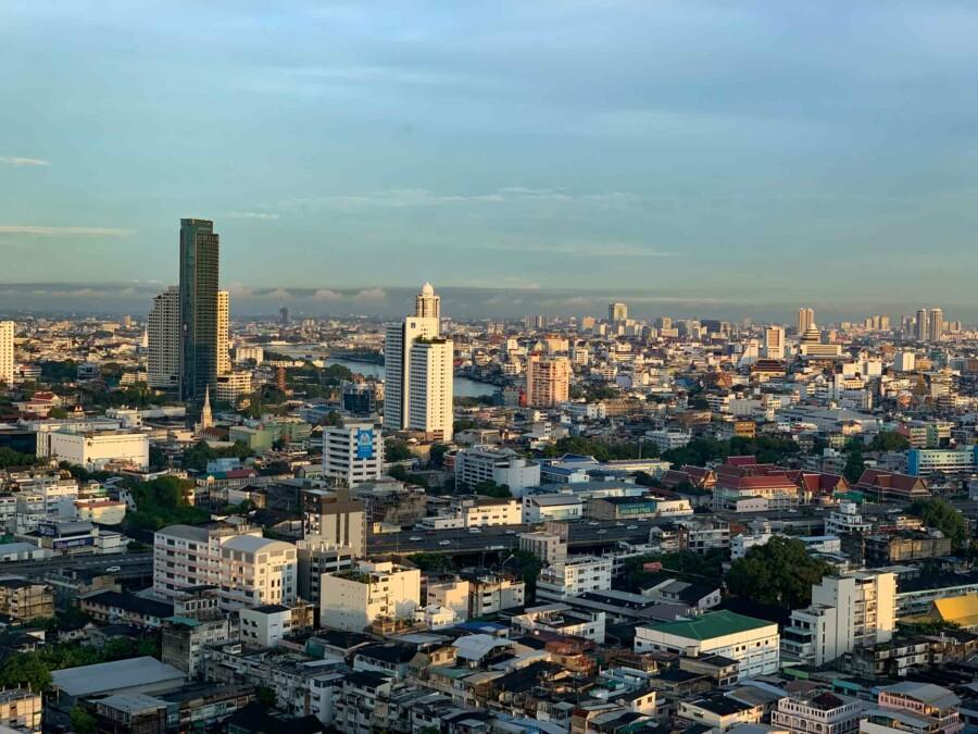 Skyline auf Bangkok